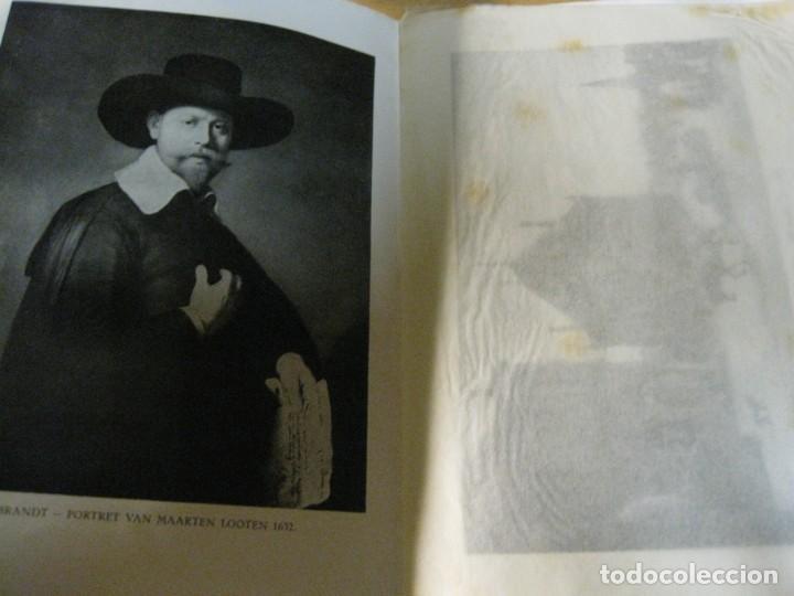 Arte: catalogo exposicion rembrandt . galeria muller amsterdam año 1932 expositie diptico - Foto 2 - 195149228