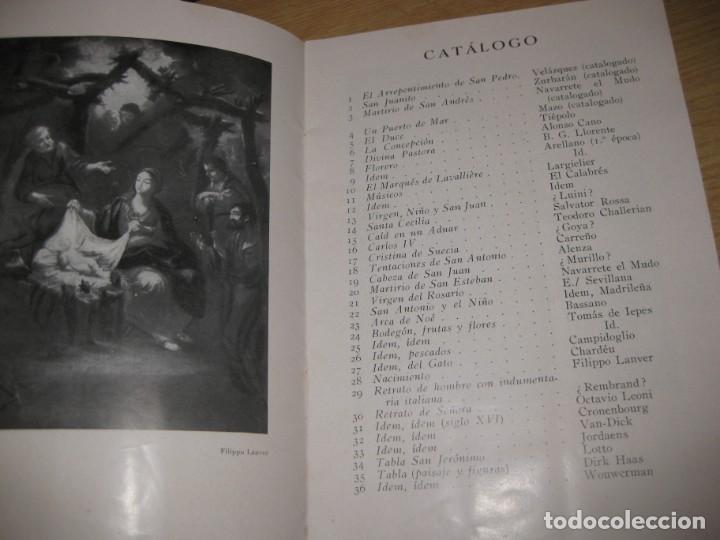Arte: catalogo exposicion y venta de cuadros antiguos . sala pares barcelona . 1935 col. conde malladas - Foto 2 - 195149577