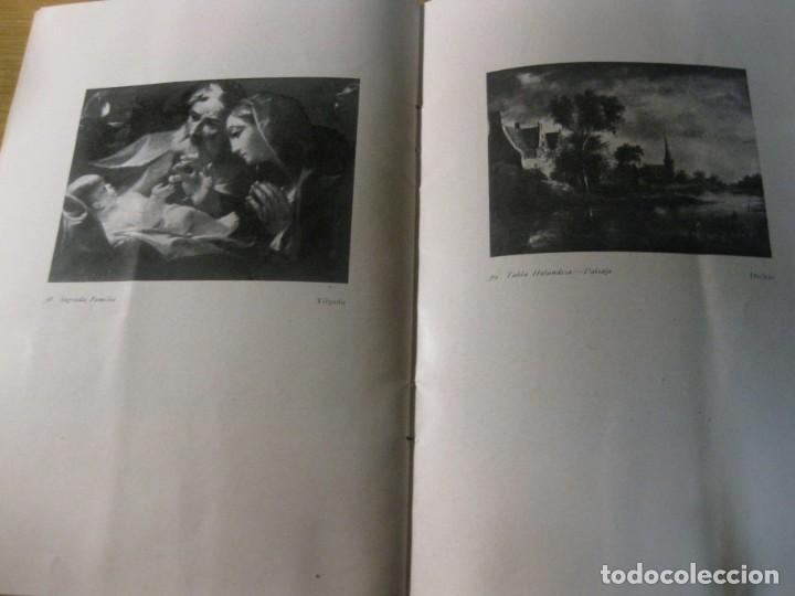 Arte: catalogo exposicion y venta de cuadros antiguos . sala pares barcelona . 1935 col. conde malladas - Foto 6 - 195149577