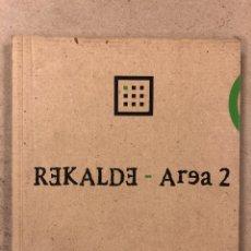 Arte: SALA REKALDE - ÁREA 2 (1995). CATÁLOGO EXPOSICIONES ARTE. BILBAO.. Lote 195234418