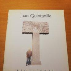 Arte: JUAN QUINTANILLA. ESCULTURAS. JULIO 2003. Lote 195239532