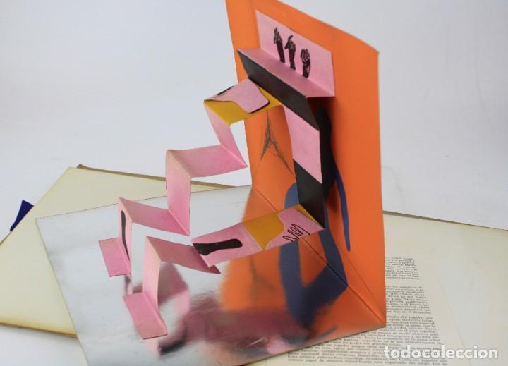 Arte: Mes-plec, 4 poemes de Santos Torroella, Arranz-Bravo, Bartolozzi, Llimós, Sala, 1967, Sala Gaspar. - Foto 4 - 195278946