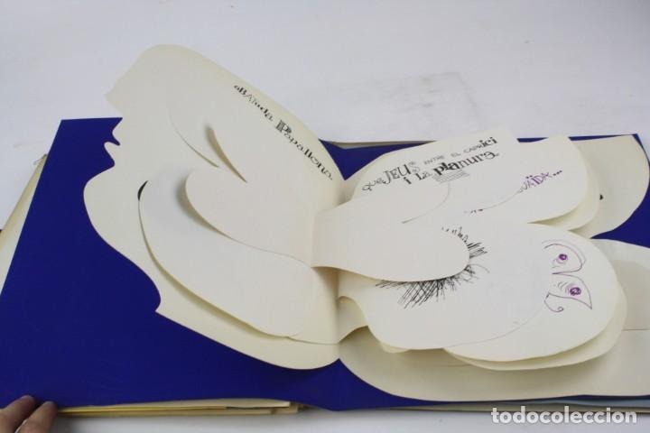 Arte: Mes-plec, 4 poemes de Santos Torroella, Arranz-Bravo, Bartolozzi, Llimós, Sala, 1967, Sala Gaspar. - Foto 6 - 195278946