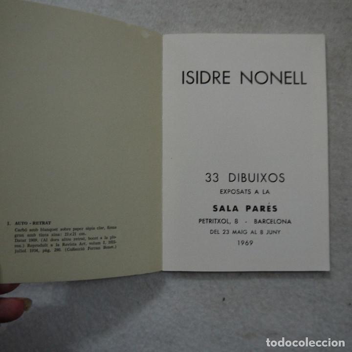 Arte: 33 DIBUIXOS EXPOSATS A LA SALA PARÉS EL ANY 1969 - ISIDRE NONELL - Foto 2 - 195300910