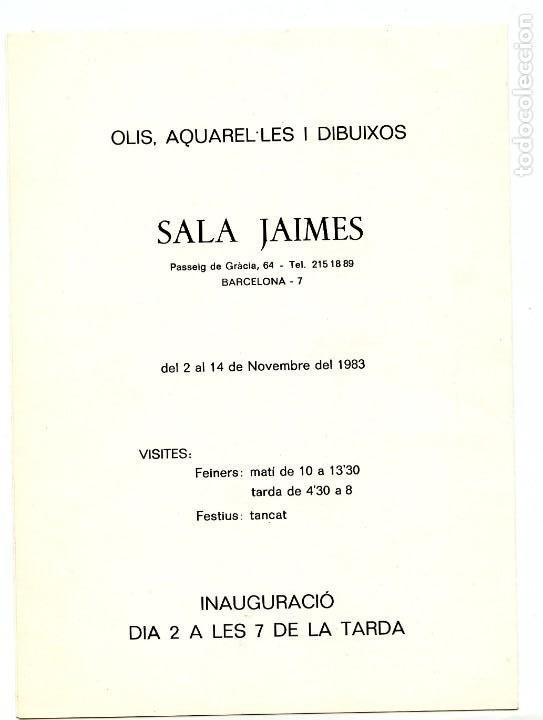 Arte: CATÁLOGO EXPOSICIÓN HOMENAJE AL PINTOR JOSÉ GUARDIOLA TORREGROSSA (1983) - Foto 3 - 195305252