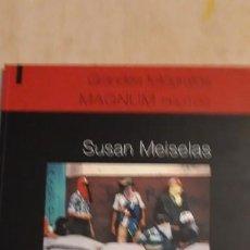 Arte: 1 CATÁLOGO DE ** SUSAN MEISELAS MAGNUM FOTOS , ** 2011 SALVAT . Lote 195338096