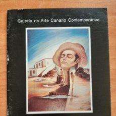 Arte: 1991 CATÁLOGO PINTURAS DE JORGE LÓPEZ - MUSEO NESTOR. Lote 195359038