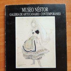 Arte: 1989 TRAJES Y TEJIDOS EN NÉSTOR - MUSEO NÉSTOR. Lote 195359872