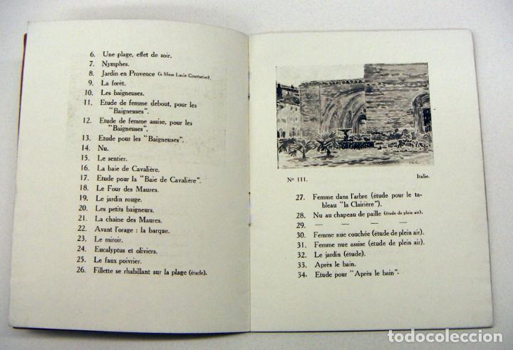 Arte: Catalogo exposición Henri Edmond Cross 1913 - Foto 2 - 195376305
