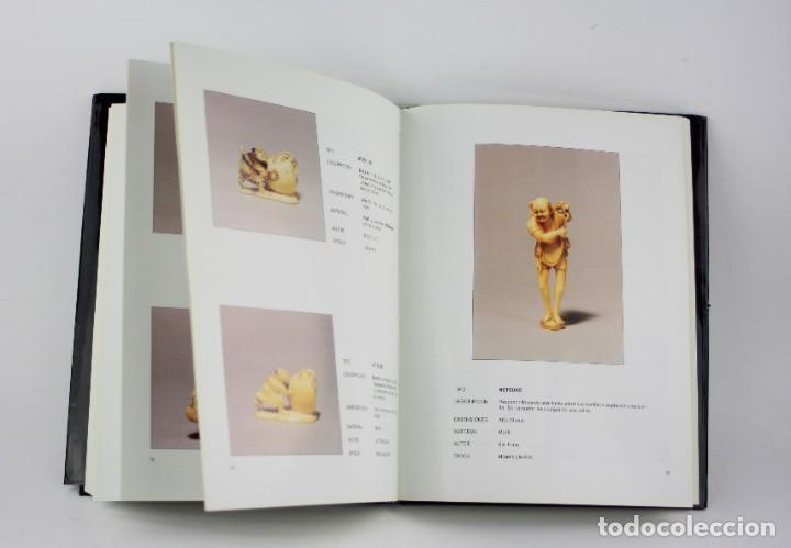 Arte: Netsuke, las grandes miniaturas de la escultura japonesa, 1998, Guillermo Mateu, Gal Art, Barcelona. - Foto 3 - 195381516