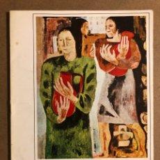 Arte: BEGOÑA IZQUIERDO. CATÁLOGO EXPOSICIÓN EN GALERÍA DE ARTE WINDSOR EN 1975.. Lote 195514703