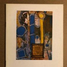 Arte: IÑAKI ÁLVAREZ ANGULO (PINTURAS). CATÁLOGO EXPOSICIÓN EN MUSEO DE ARTE E HISTORIA DURANGO 1988. Lote 195514803