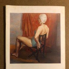 """Arte: MERCHE OLABE """"PINTURAS-DIBUJOS"""". CATÁLOGO EXPOSICIÓN MUSEO ARTE E HISTORIA (DURANGO), 1987. Lote 195516471"""