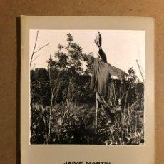"""Arte: JAIME MARTÍN """"ESPANTAPÁJAROS"""". CATÁLOGO EXPOSICIÓN MUSEO ARTE E HISTORIA (DURANGO), 1988. Lote 195516792"""