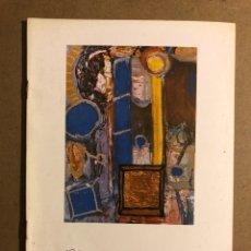 """Arte: IÑAKI ÁLVAREZ ANGULO """"PINTURAS"""". CATÁLOGO EXPOSICIÓN MUSEO ARTE E HISTORIA (DURANGO), 1987. Lote 195516856"""