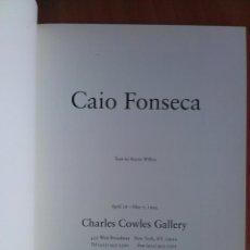 Arte: 1994 CATÁLOGO CAIO FONSECA . Lote 195799016