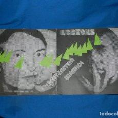 Arte: (M) CATALOGO REVISTA - ACCIONS 1983 - PORTADA ANDY WARHOL, POL BORRÀS, MANOLO VALDES. Lote 195972861