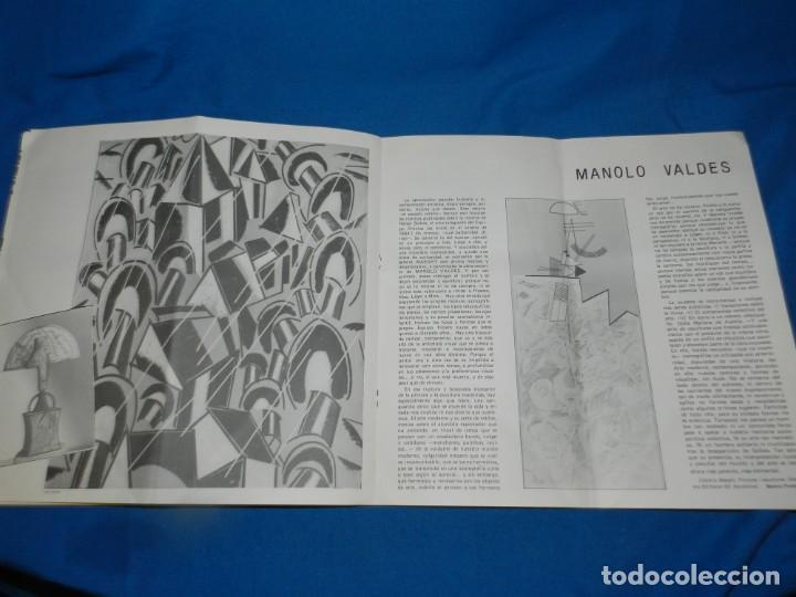 Arte: (M) CATALOGO REVISTA - ACCIONS 1983 - PORTADA ANDY WARHOL, POL BORRÀS, MANOLO VALDES - Foto 5 - 195972861