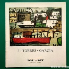 Arte: JOAQUÍN TORRES-GARCÍA. DAU AL SET - BARCELONA, 1976. TEXTO JACQUES LASSAIGNE. Lote 195993785