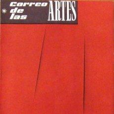 Arte: CORREO DE LAS ARTES. REVISTA Nº 27. SEPTIEMBRE 1960. PORTADA DE LUCIO FONTANA. GALERÍA RENÉ METRAS.. Lote 196102567