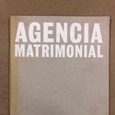 Arte: AGENCIA MATRIMONIAL DE EDUARDO ARROYO. CUADERNO DE ARTISTA. VOLUMEN CH DE MATADOR (1998).. Lote 196372393