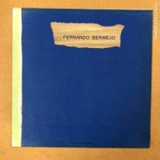 Arte: FERNANDO BERMEJO. CATÁLOGO EXPOSICIÓN DE ARTE EN 1987. CON 6 LÁMINAS CON SUS OBRAS.. Lote 196779778