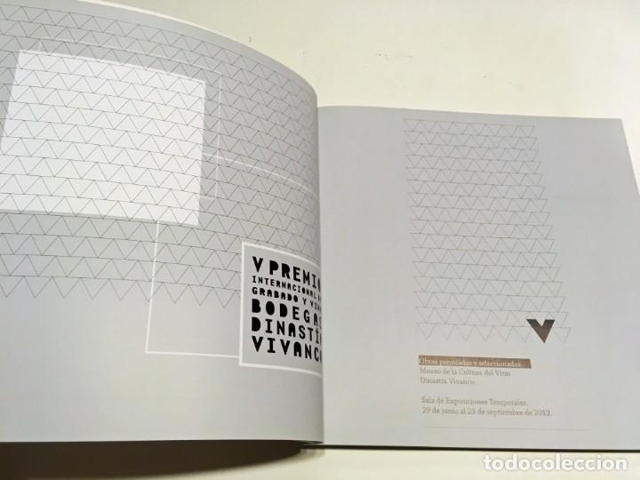 Arte: Catálogo V Premio Grabado y Vino Bodegas Dinastía Vivanco . 2012 - Foto 4 - 197490162