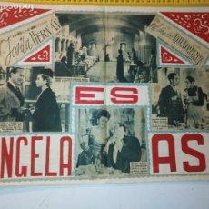 Arte: ANTIGUO COLLAGE CINE - JOSITA HERNAN FERNANDO DE CORDOBA, ANTONIO BOFARULL FREYRE DE ANDRADE ..... Lote 197567233