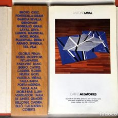 Arte: BLAUHAUS MOBLES I OBJECTES D'ARTISTA - MARISCAL - BROTO - CESC - LLIMOS - GENOVART.... Lote 197669847