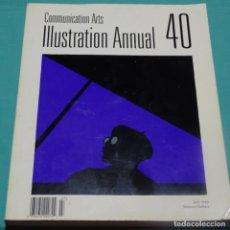 Arte: CATÁLOGO COMMUNICATION ARTS.ILLUSTRATION ANNUAL 40.JULY 1999.254 PAG.. Lote 197966717