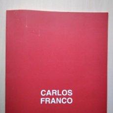 Arte: CARLOS FRANCO: FACHADA DE LA CASA DE LA PANADERÍA PLAZA MAYOR DE MADRID. GAMARRA GARRIGUES, 1993. Lote 198753015