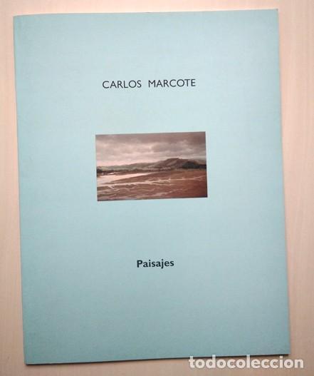 CARLOS MARCOTE (SALVATIERRA 1950) 'PAISAJES'. TEXTO DANIEL CASTILLEJO. ESPACIO CAJA BURGOS, 2000 (Arte - Catálogos)