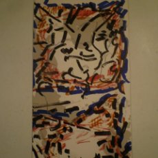 Arte: RIOPELLE. INVITACIÓN. GALERIA MAEGHT. 1975. Lote 199305995