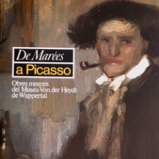 Arte: DE MARÉES A PICASSO. OBRES MESTRES DEL MUSEO VON DER HEYDT DE WUPPERTAL. BARCELONA 1987. Lote 200249228