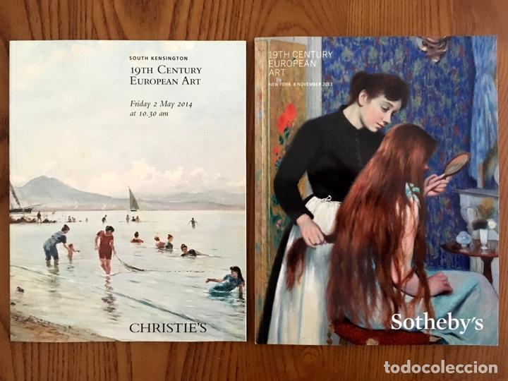 20 PRECIOSOS CATÁLOGOS DE ARTE EUROPEO DEL SIGLO XIX DE SOTHEBY'S CHRISTIE'S BONHAMS DOROTHEUM (Arte - Catálogos)
