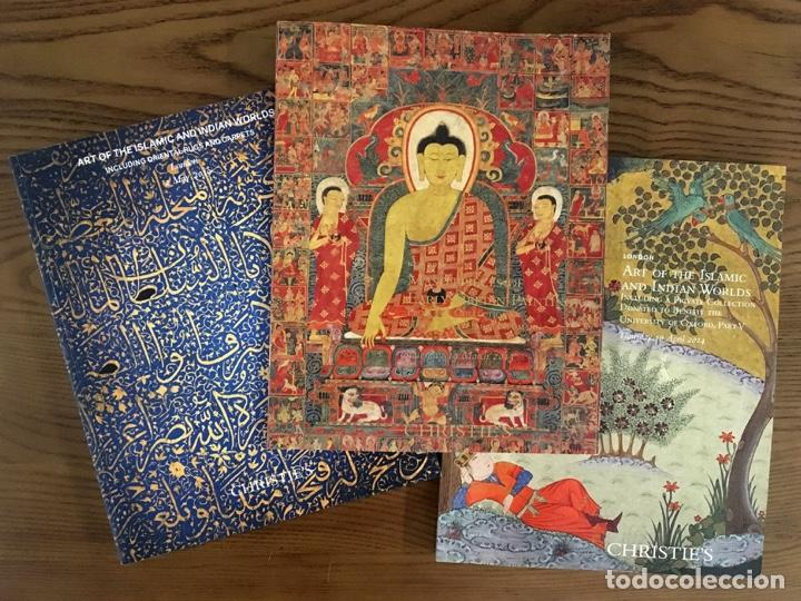 Arte: 9 CATÁLOGOS de ARTE de India Himalaya Tibet Sudeste Asiático Mundo Islámico Works of Art CHRISTIES - Foto 3 - 200572948