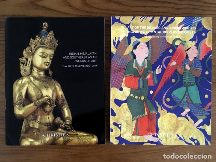 Arte: 9 CATÁLOGOS de ARTE de India Himalaya Tibet Sudeste Asiático Mundo Islámico Works of Art CHRISTIES - Foto 2 - 200572948