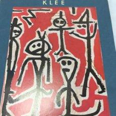 Arte: KLEE ALBUM D'ART SKIRA, 1966 6 LÁMINAS INDIVIDUALES Y BIOGRAFÍA DEL ARTISTA. IMPRESO EN SUIZA . Lote 200791283