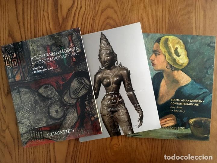 9 CATÁLOGOS DE ARTE DE INDIA HIMALAYA TIBET SUDESTE ASIÁTICO MUNDO ISLÁMICO WORKS OF ART CHRISTIE'S (Arte - Catálogos)
