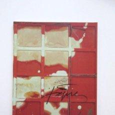 Arte: ANTONI TAPIES, OBRA RECIENTE, CATÁLOGO EXPOSICIÓN MADRID 1995, TEXTOS JOSÉ MIGUEL ULLÁN, IMPECABLE. Lote 201104220