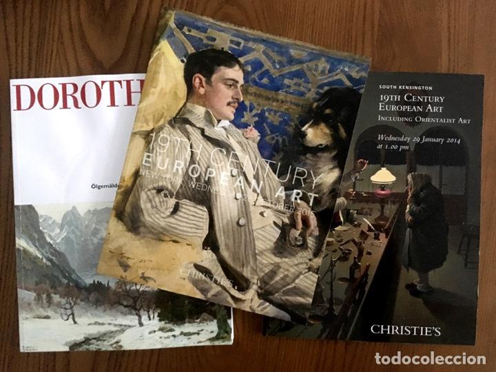 Arte: 20 Preciosos CATÁLOGOS de ARTE EUROPEO del SIGLO XIX de SOTHEBYS CHRISTIES BONHAMS DOROTHEUM - Foto 6 - 200547178