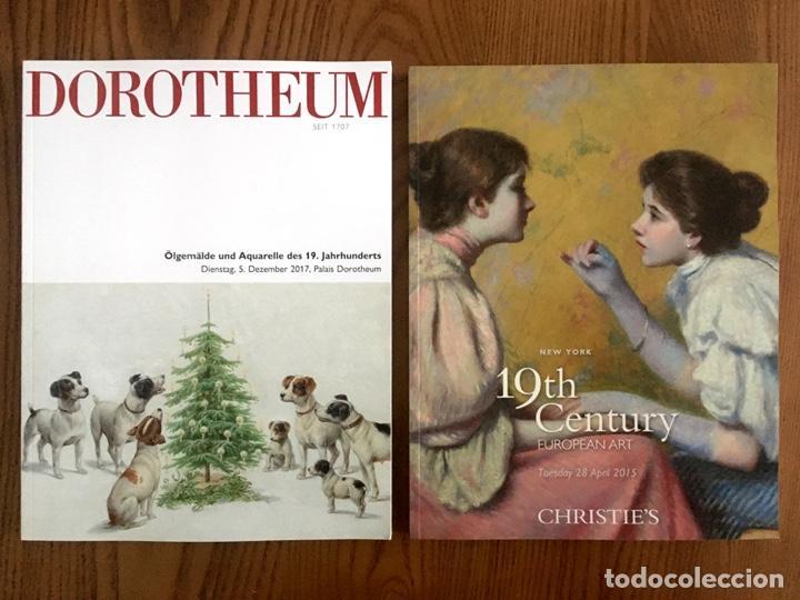 Arte: 20 Preciosos CATÁLOGOS de ARTE EUROPEO del SIGLO XIX de SOTHEBYS CHRISTIES BONHAMS DOROTHEUM - Foto 7 - 200547178