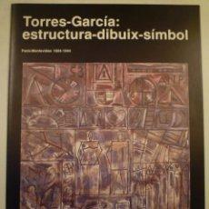 Arte: JOAQUIM TORRES-GARCÍA. INVITACIÓN. FUNDACIÓ JOAN MIRÓ. MARGIT ROWELL. BARCELONA.1986. Lote 202075900