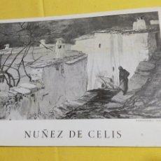 Arte: CATALOGO DE ARTE NUÑEZ DE CELIS 1973-74. Lote 202286467