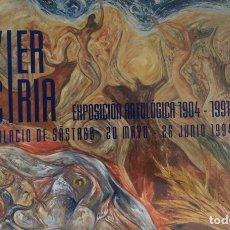Arte: CARTEL EXPOSICIÓN JAVIER CIRIA-ZARAGOZA.. Lote 202357263