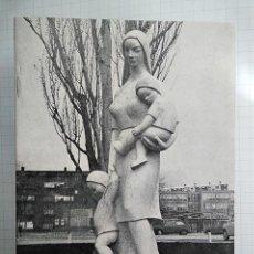 Arte: ESCULTURAS DE MARINO AMAYA (ASTORGA 1928–MÁLAGA 2014) EN MADRID: NIÑO JESÚS, MORATALAZ. H. 1964. Lote 202489310