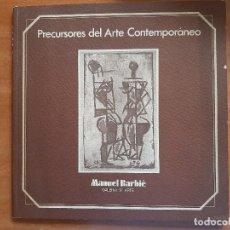 Arte: 1975 PRECURSORES DEL ARTE CONTEMPORÁNEO : JOAQUÍN TORRES GARCÍA , RAFAEL ALBERTI..... Lote 203882731