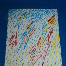 Arte: (M) ROBERT LLIMÓS DESEMBRE 1976 GENER 1977 JOAN BROSSA, PRESENTACIÓN DE LA EXPOSICIÓN. Lote 204994032