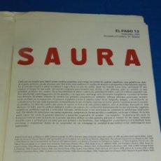 Arte: (M) ENCUENTRO CON EL PASO - UNIVERSIDAD INTERNACIONAL MENÉNDEZ PELAYO CUENCA 1987 JOAN BROSSA, SAURA. Lote 205021313