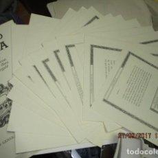 Arte: RECORDANDO ZARAGOZA ALBUM LAMINAS COMPLETO DIBUJOS RAFAEL MARGALE 1988 EJEMPLAR Nº 27. Lote 157704766